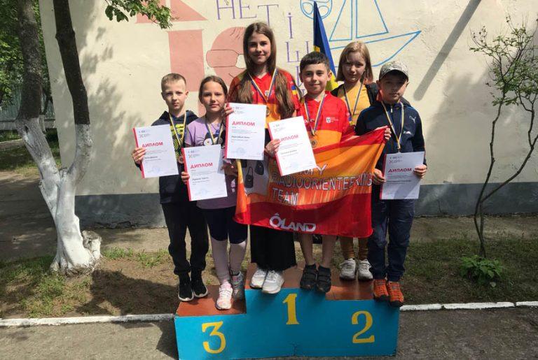 Вихованці Золочівської станції юних техніків здобули нагороди на Чемпіонаті України зі спортивної радіопеленгації