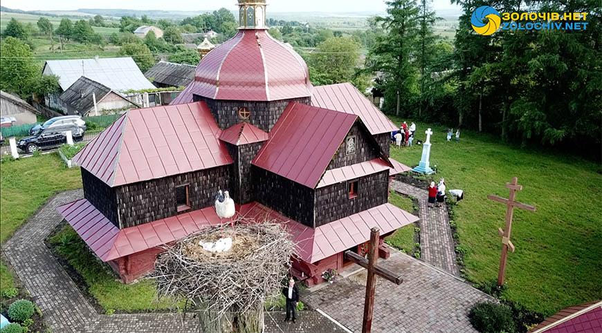 Церква у Верхобужі