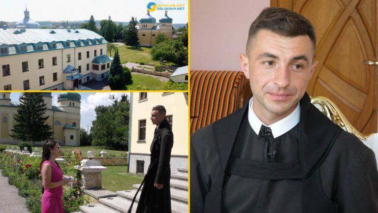 Інтерв'ю: о. Домінік Налисник про чернече покликання та місію у монастирі отців Василіян (відео)