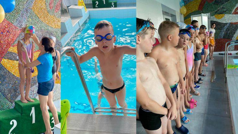 """Перші міжобласні змагання з плавання відбулися у басейні """"Струтин Комплексу"""" (відео)"""