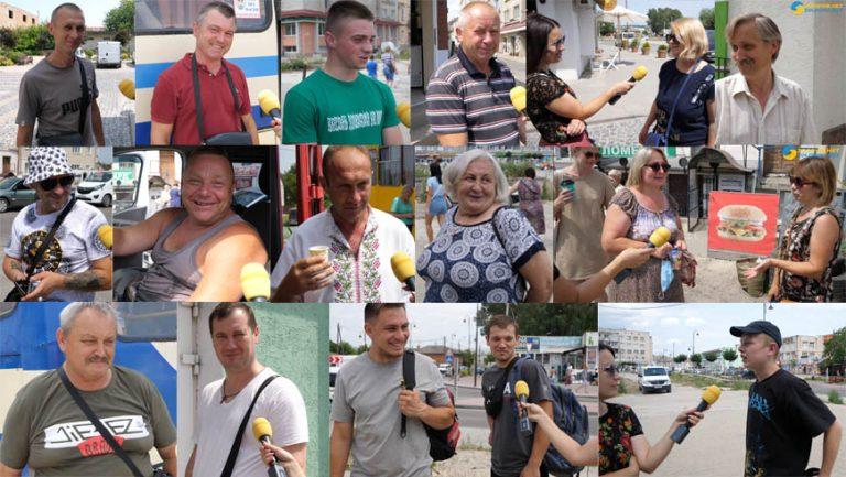 Ми запитали: як люди рятуються від спеки (відео)