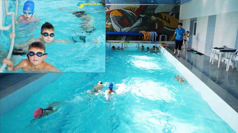 """Плавання: басейн """"Струтин комплекс"""" місце відпочинку для дітей та дорослих (відео)"""