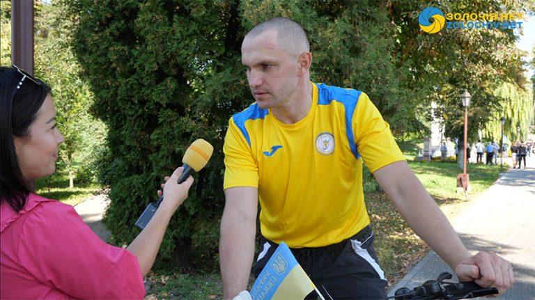 Інтерв'ю з Чемпіоном літніх Паралімпійських ігор  Віктором Дідухом (відео)