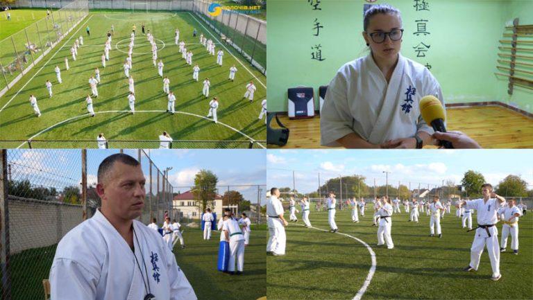 """Спортивний клуб """"САЙХА ДОДЖО"""": як навчають карате у Бродах (відео)"""