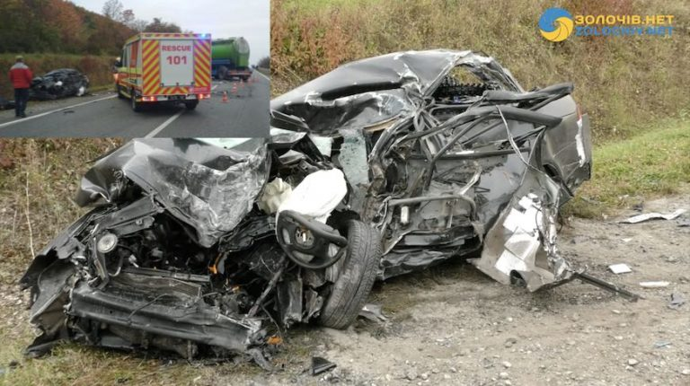 Смертельна ДТП у Золочівському районі: загинуло 2 людей (відео)