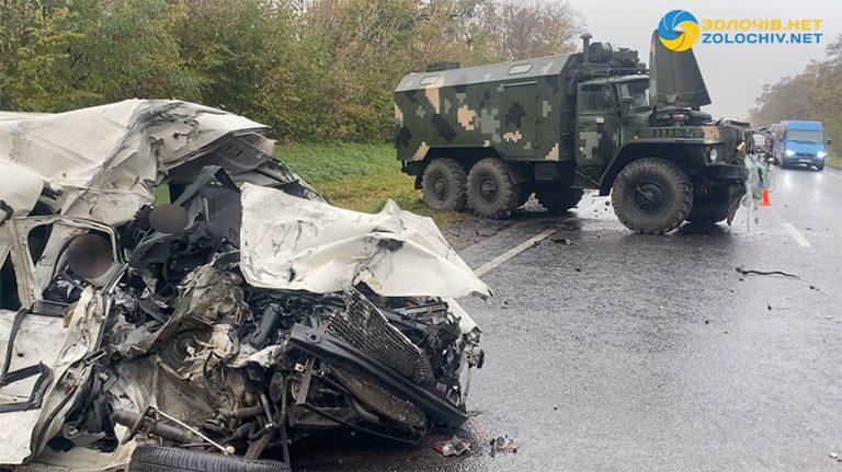 2 осіб загинуло: смертельна ДТП у  Золочівському районі (відео)