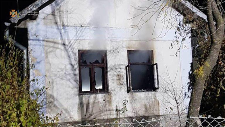 В Глинянах на пожежі загинув чоловік