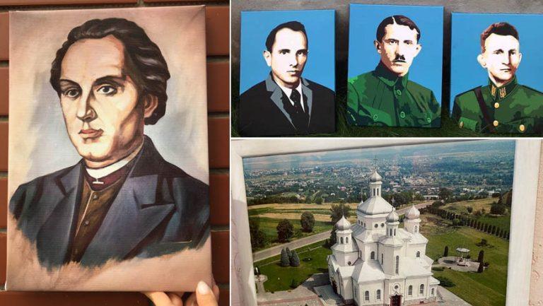 Друк портретів на холсті