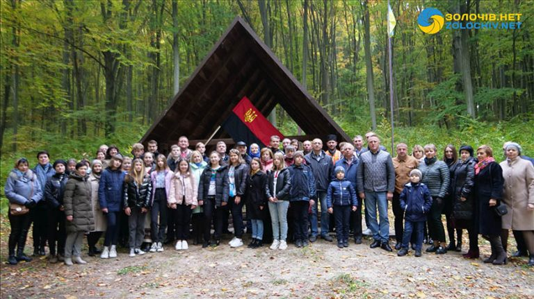 У криївці на Золочівщині вшанували вояків УПА (відео)