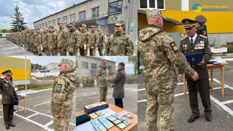 Військовослужбовців ВЧ А2562 вітали з Днем захисників та захисниць України (відео)